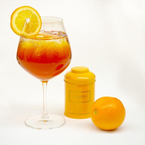 オレンジスプラッシュのティースカッシュ